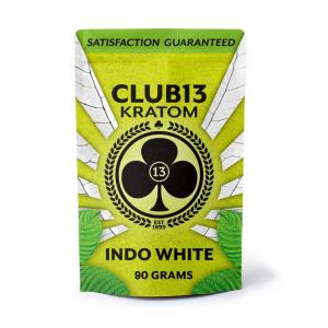 Club13 Kratom Indo White 90 Grams Pack