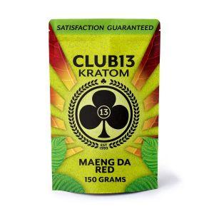 Club13 Kratom Maeng Da Red 150 Grams Pack