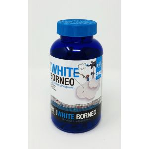 Kratom White Borneo Natural Herbal Supplement 300 Caps