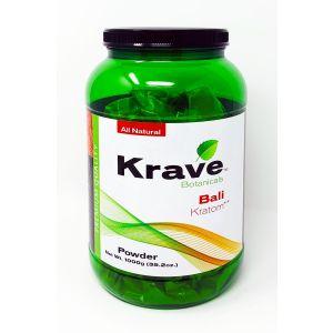 Krave Botanicals Bali Kratom Powder 1000g 35.2 oz