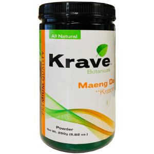 Krave Botanicals Maeng Da Kratom Powder 250g 8.82 oz