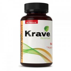 Krave Botanicals Bali Kratom 500 Caps Premium Quality