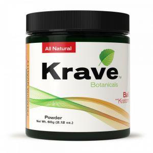 Krave Botanicals Gold Kratom Powder 120g (4.24oz)