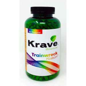 Krave Botanicals Trainwreck Kratom 300 Caps