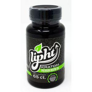 Lipht Kratom Premium Maeng Da 65 Capsules Herbal Supplement