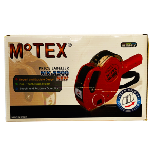 Motex Price Labeller Mx 5500 New One-Touch Open System