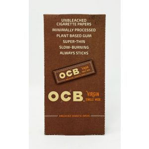 OCB Virgin Single Wide 24 Booklets Papers