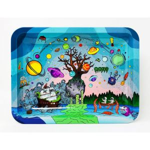 "OOZE Tree Of Life Rolling Tray Medium Size 10""x8"""