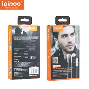 Ipipoo High Performance In-Ear Headphone iP-B60Hi White