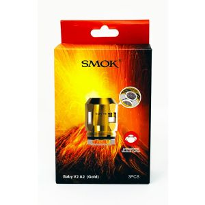 SMOK V2 A2 Vape Coil 3 PCs Core Pack Gold Color