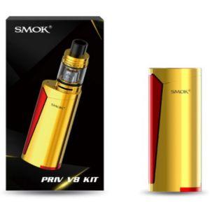 SMOK Priv V8 Gold Red Vaporizer Kit
