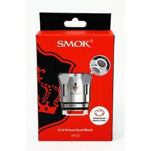 SMOK V12 Prince Dual Mesh Coil 3 PCs Core Pack