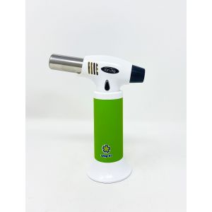 Whip It Ion Lite Torch Jet Flame Adjustable White Green Color