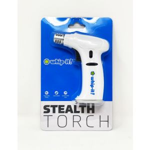Whip It Stealth Torch adjustable flame white color