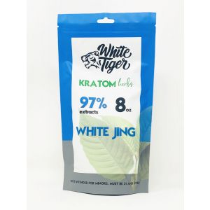 White Tiger Kratom Herbs 8 Oz Powder White Jing