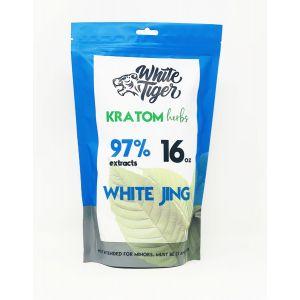 White Tiger Kratom Herbs 16 Oz Powder White Jing