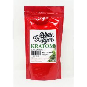 White Tiger Kratom Herbs 250 Grams Powder Red Jing