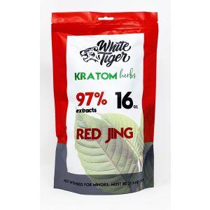 White Tiger Kratom Herbs 16oz Powder Red Jing