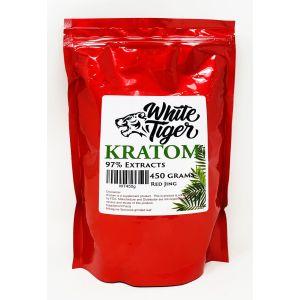 White Tiger Kratom Herbs 450 Grams Powder Red Jing