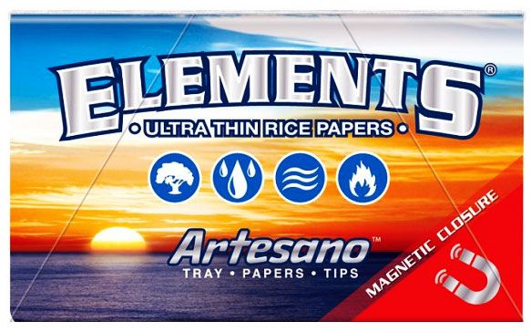 Elements Artesano Rice Papers Magnetic Closure 1 1/4