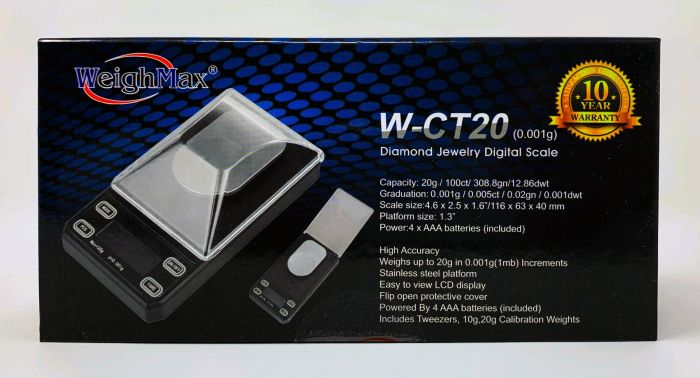 WeighMax W-CT20 Jewelry Pocket Scale