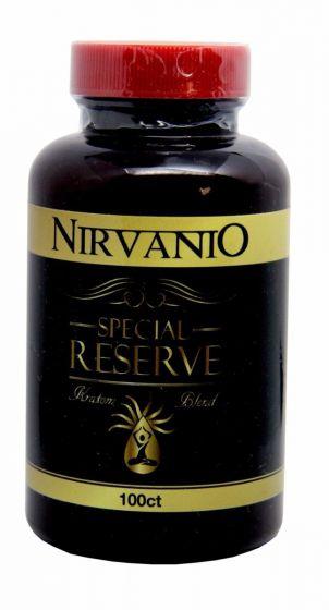 Nirvanio Special Reserve Kratom Blend 500Mg Capsules 100Ct