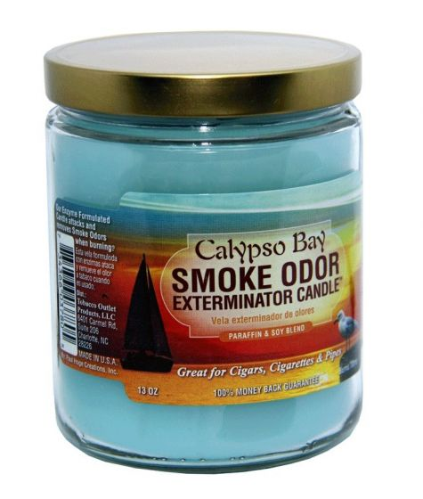 Calypso Bay Smoke Odor Exterminator Candle 13 Oz