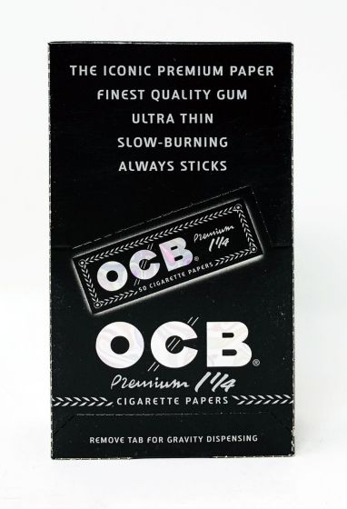 OCB Black 1 Quarter