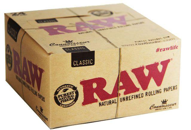 Raw Organic Connoisseur King Size Slim Box