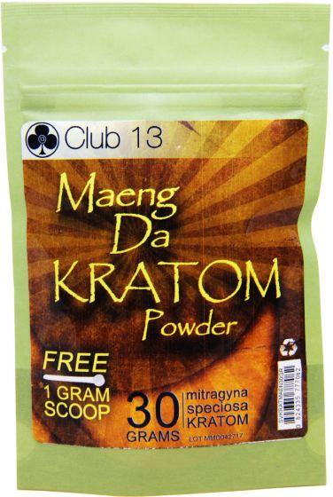 Maeng Da Kratom Powder Club 13