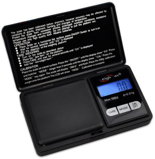 Digital Pocket Scale WeighMax